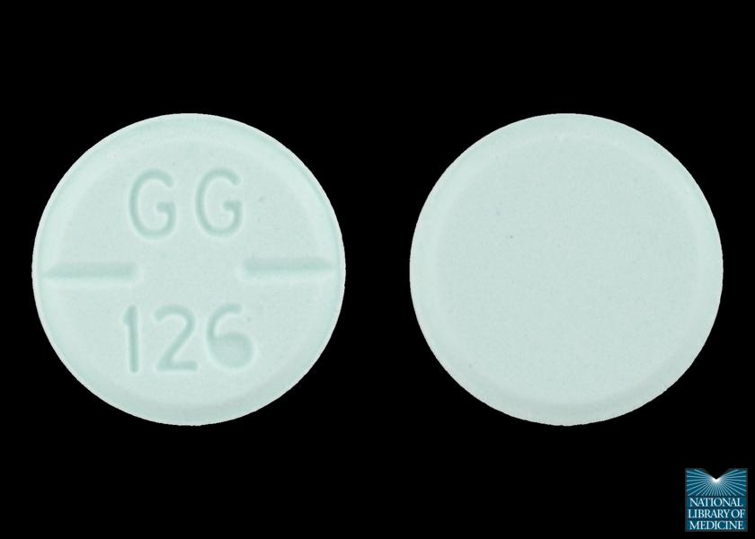 Typical haloperidol pills. Photo via the National Library of Medicine