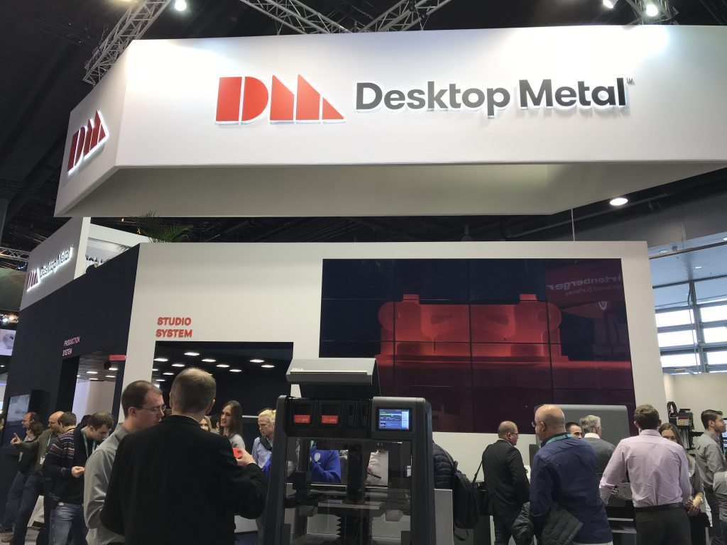 Desktop Metal at Formnext 2017. Photo by Beau Jackson for 3D Printing Industry