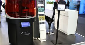 An XCELL 3D printer. Photo via DWS