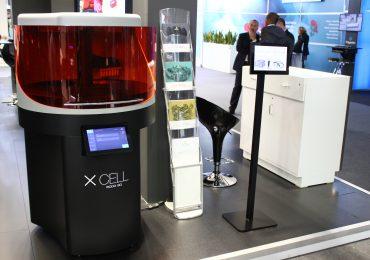 An XCELL 3D printer. Photo via DWS