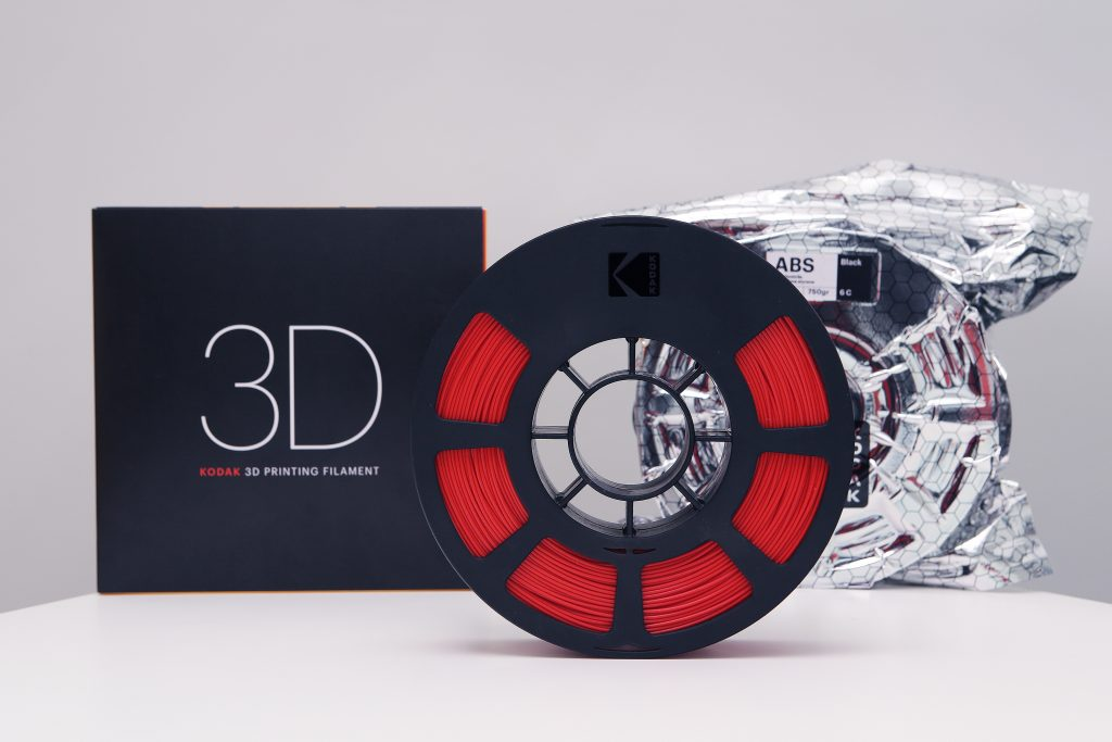 Kodak's low moisture absorbent filament. Photo via Kodak.