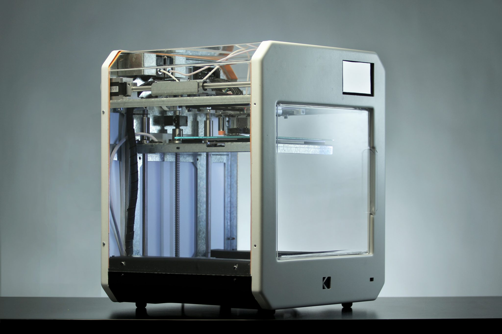 Angle view KODAK Portrait 3D Printer. Photo via Kodak.
