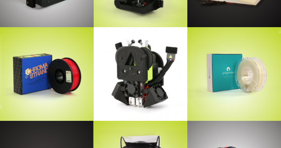 Lulzbot new 3D printing products for Winter 2017.