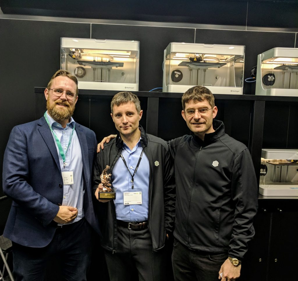 Markforged at formnext 2017.