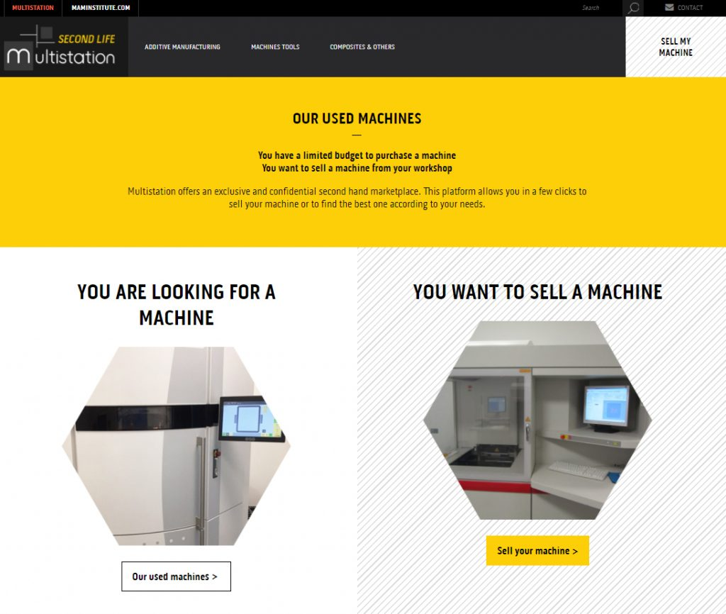 The Multistation website. Image via Multistation.