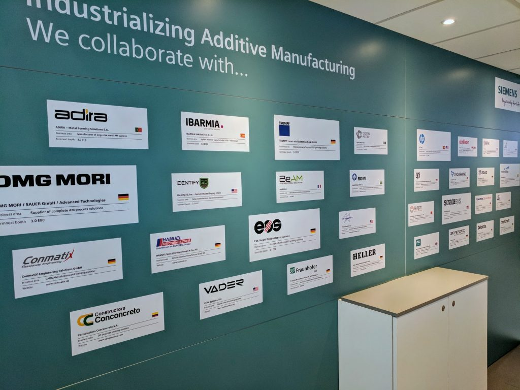 Siemens plans to industrialize Additive Manufacturing through collaboration. Photo by Michael Petch.