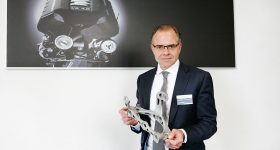 Jörg Spindler Head of Equipment and Metal Forming at the Audi Competence Center. Photo via Volkswagen AG