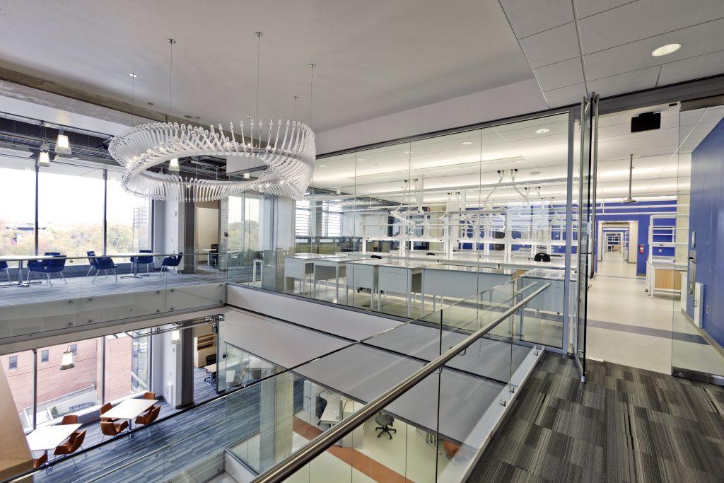 Inside A. James Clark Hall. Photo via UMD.