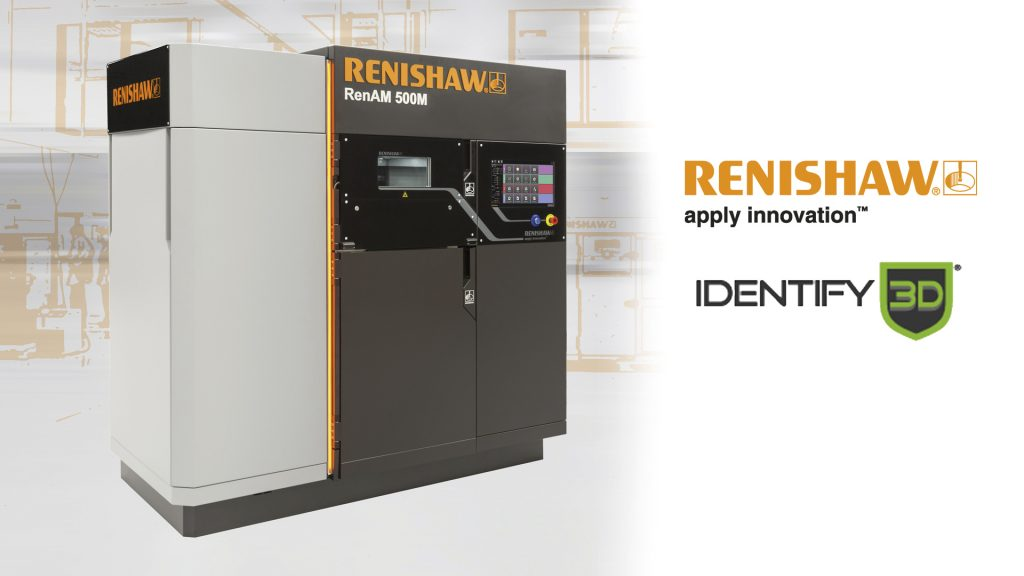 Renishaw and Identify3D are currently working to deliver their system to manufacturers. Image via Renishaw.