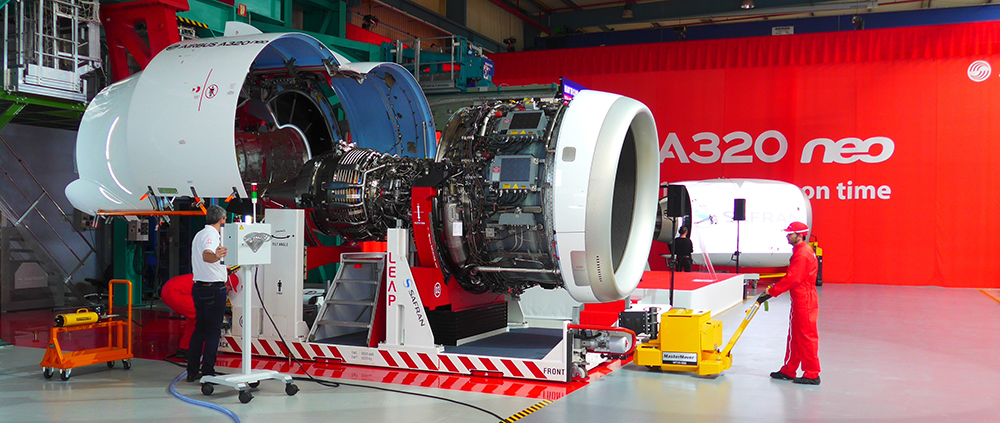 The Leap-IA engine has faced problems. Photo via Safran.