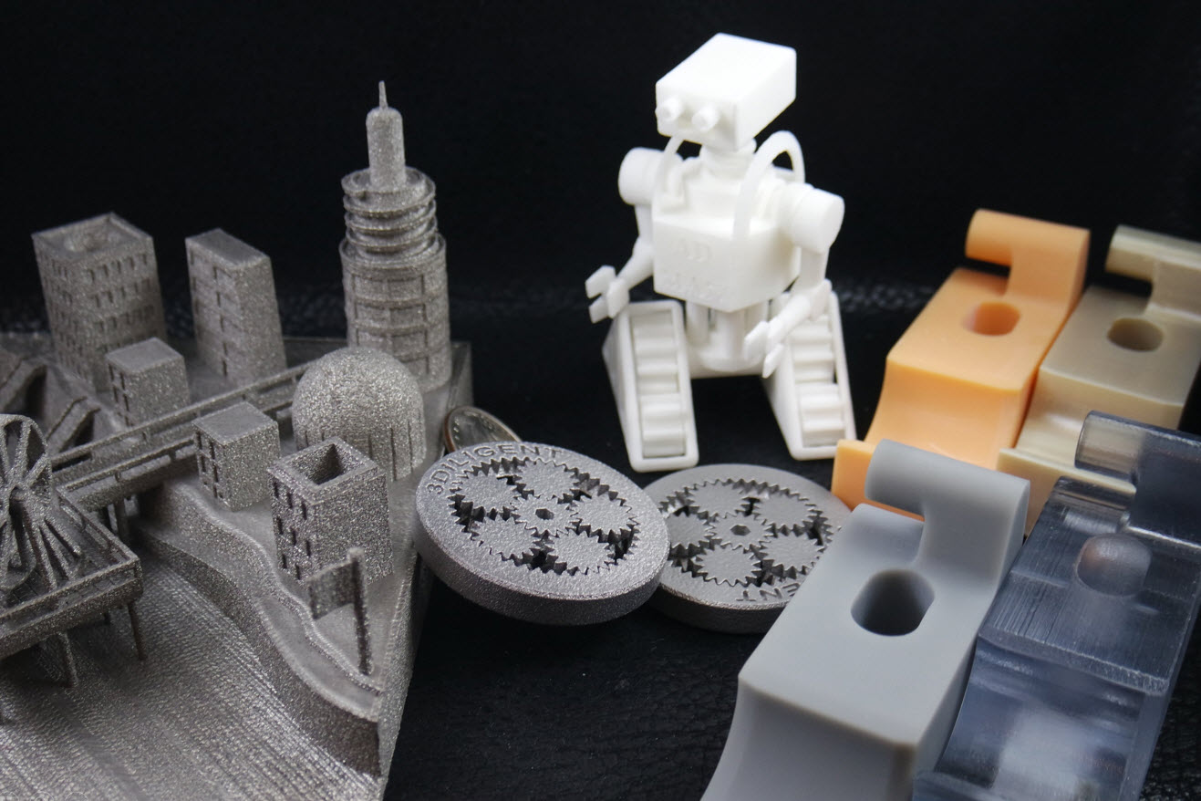 3Diligent's exisitng catalogue of additive manufacturing materials is now being expanded. Photo via 3Diligent.