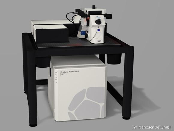 The Photonic Professional GT. Image via Nanoscribe.