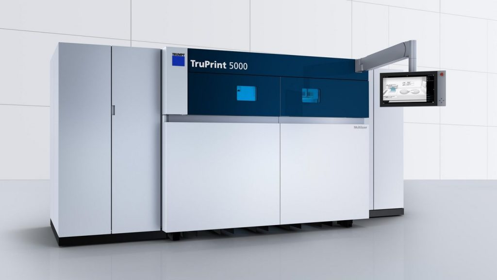 The TRUMPF TruPrint 5000. Image via TRUMPF.