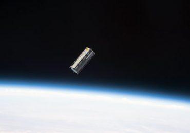 The Tupod deployed in space. Photo via NASA.