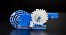 UW Printed Wi-Fi mechanism. Photo by Mark Stone/University of Washington