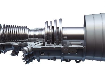 The GE 9HA gas turbine. Image via GE Power