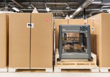 Desktop Metal Studio System prepares for shipping. Photo via Desktop Metal.
