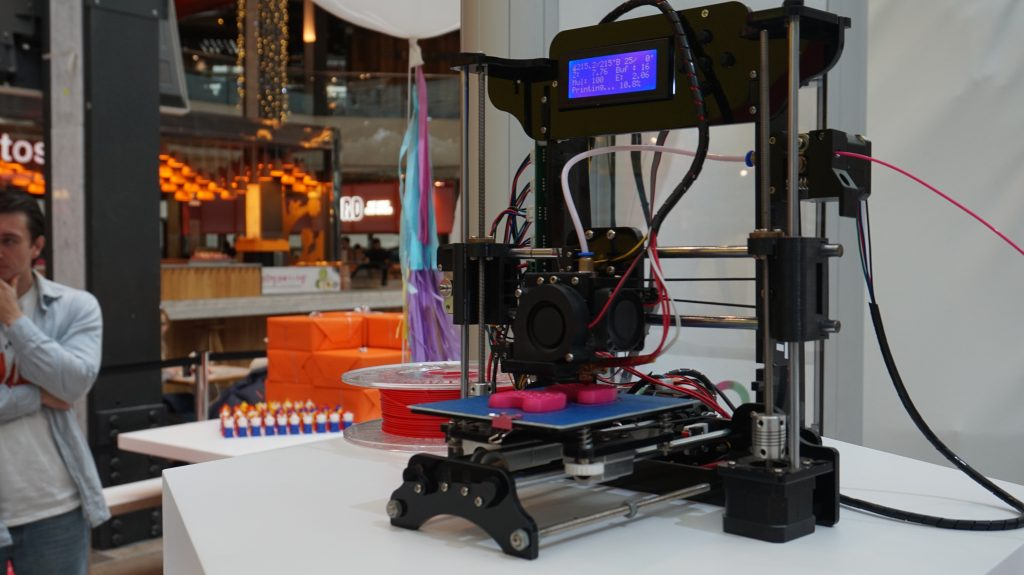 A STARTT 3D printer. Photo by Rushabh Haria.