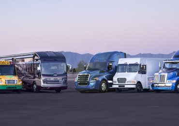 Some of the vehicles for which Daimler will 3D print spare parts. Photo via DTNA.