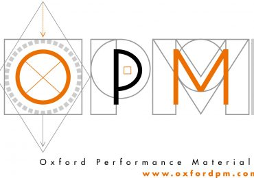Oxford Performance Materials OPM Logo.