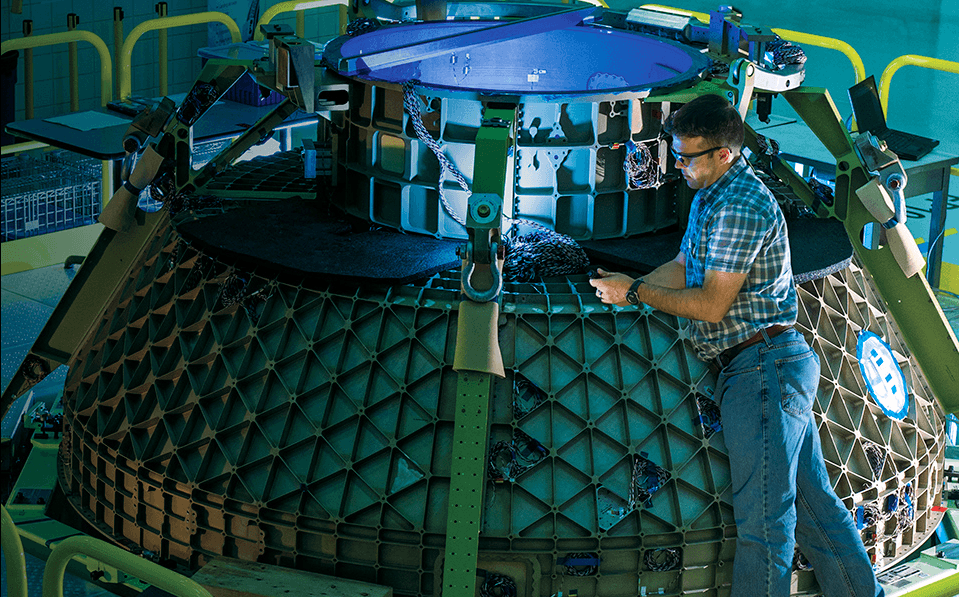 Oxford Performance Materials are working with Boeing on the Starliner.