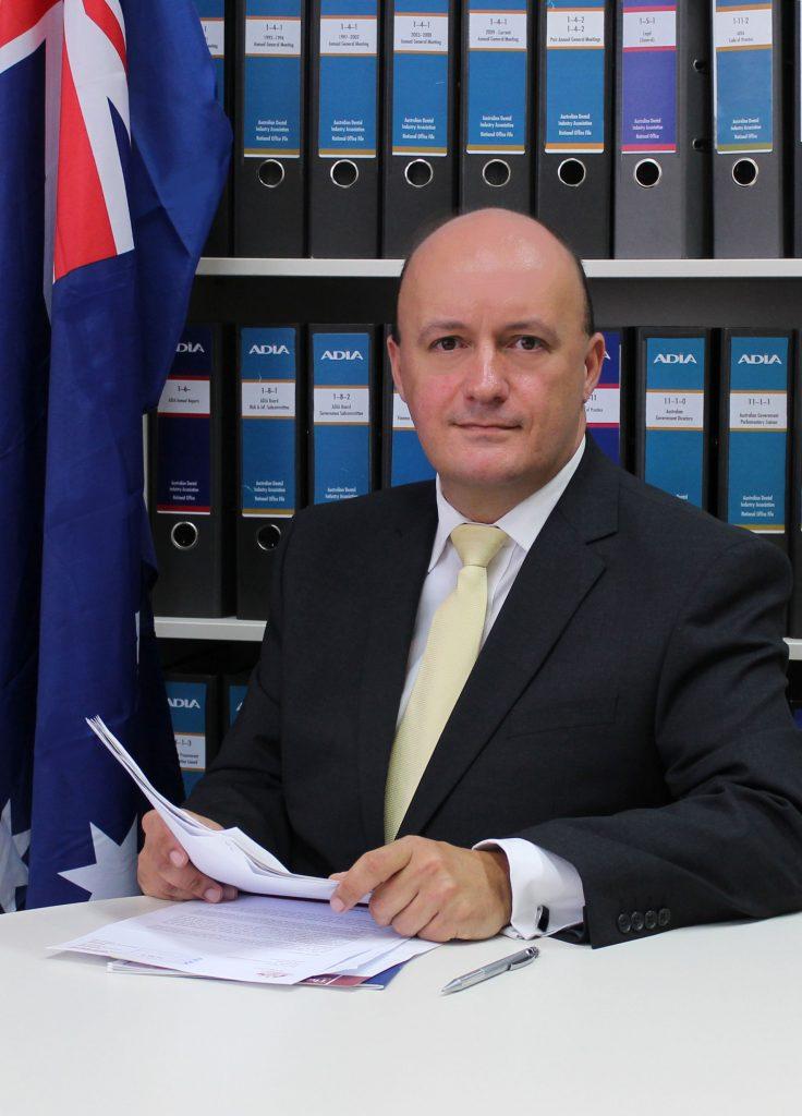 Troy Williams, Chief Executive Officer of the Australian Dental Industry Association. Photo via ADIA