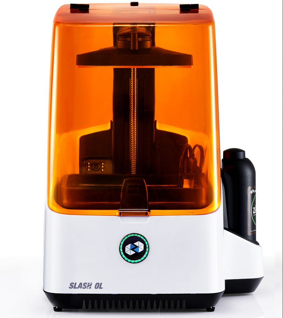 The SLASH OL 3D printer. Photo via UNIZ.