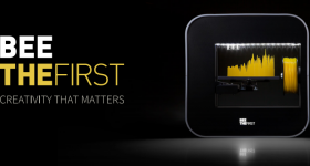 The BEEVERYCREATIVE BEETHEFIRST 3D printer - cruise control for cool.