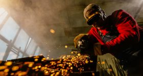 Traditional manufacturing. Photo via Stanley Black & Decker
