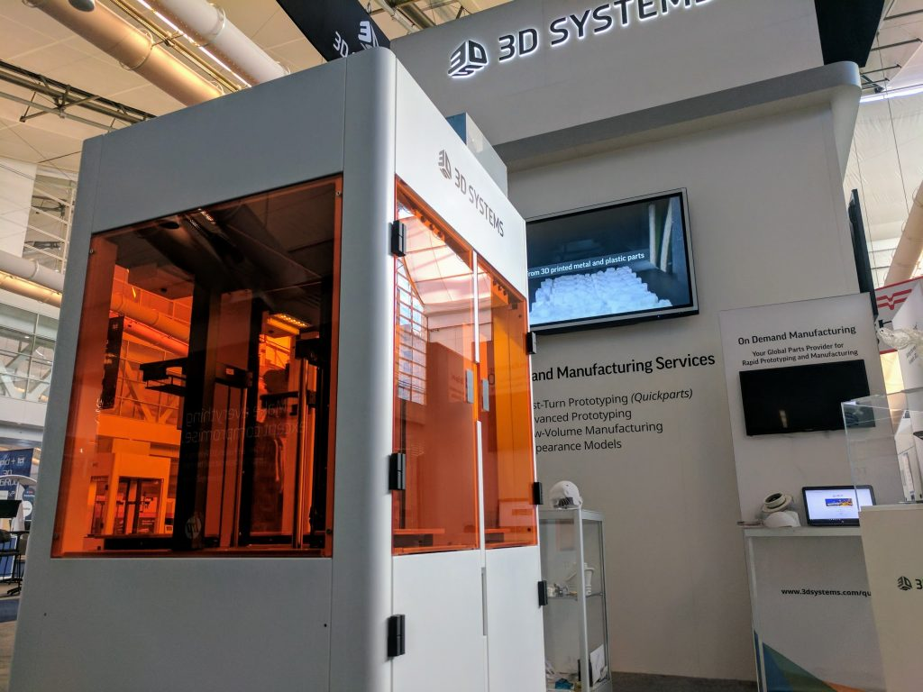 3D Systems Figure 4 3D printer. Photo by Michael Petch.