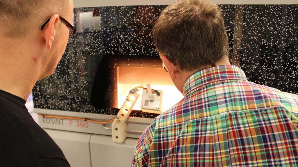3D Metal Printing at the institute. Photo via DTI.