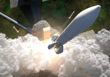 3D render of the Ariane 6. Image via ArianeGroup.