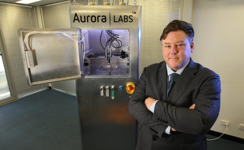 Aurora Labs' David Budge. Photo via The West.