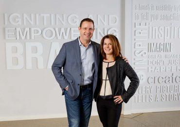 Eclipse Corp.'s Jeff Burt (L) and Sandra Burt (R). Photo via Eclipse Corp.