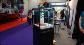 The CEL RoboxPRO at Bett 2018. Photo by Rushabh Haria.