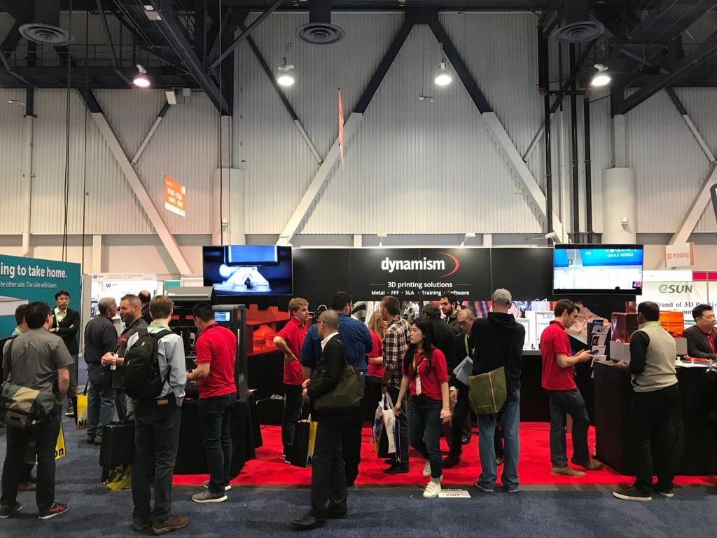 Dynamism Inc at CES 2018.