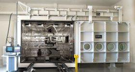 Sciaky's EBAM 150 Metal 3D Printing System. Photo via PRNewsfoto/Sciaky, Inc.