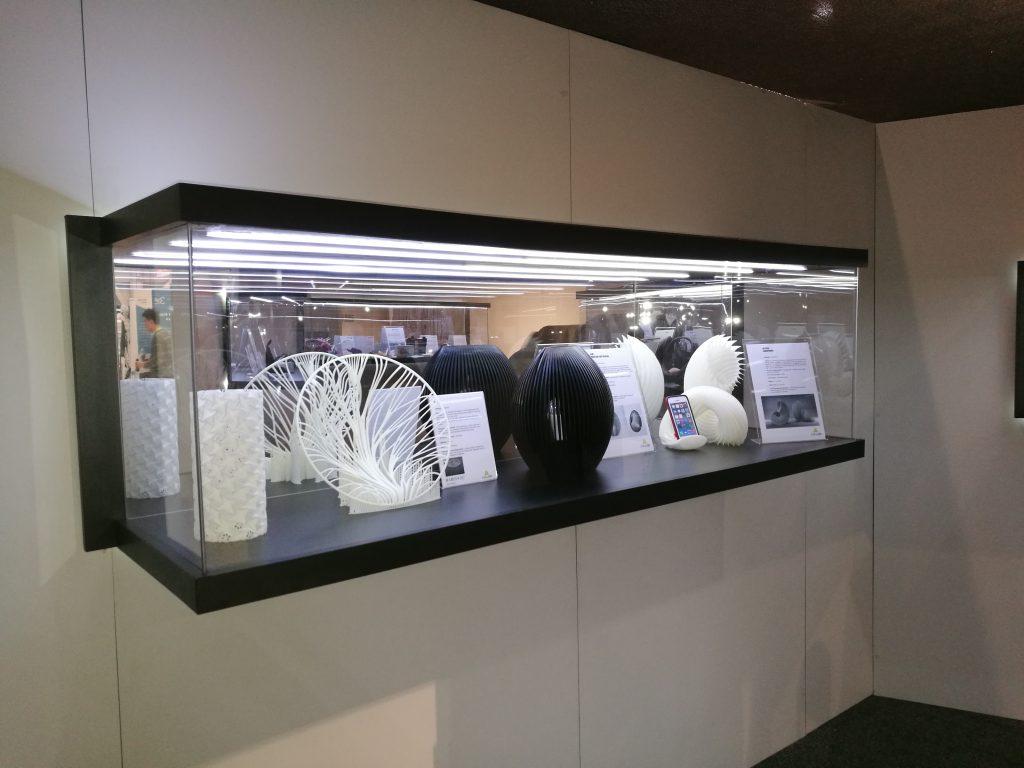 DWS 3D printers at CES.