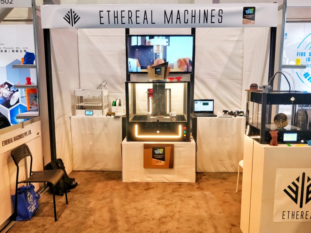 Ethereal Machines at CES.
