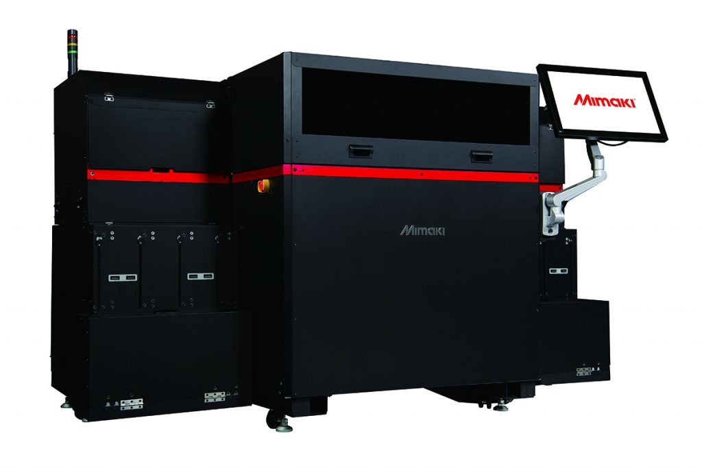 The Mimaki 3DUJ-553 full color 3D printer. Image via Mimaki
