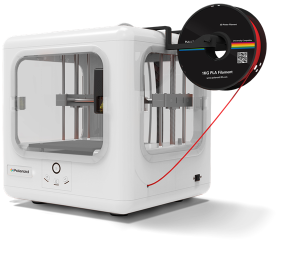 The Polaroid Nano Glide 3D Printer. Photo via Polaroid.