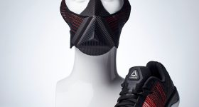 The Modla X Reebok 3D printed Athlete's Mask.