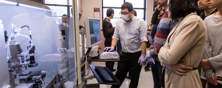 Regenova 3D bioprinter at Indiana University. Photo via IUSM.