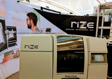 The Rize One 3D printer. Photo by Michael Petch.