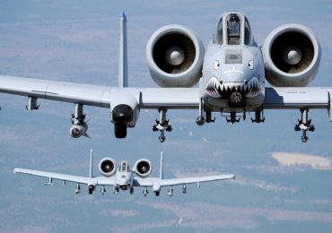 "A U.S. Air Force legacy ""Warthog"" A-10 Thunderbolt II jet. Photo via Boeing"