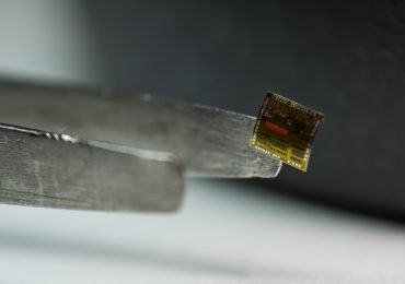 Flexible silicon-on-polymer. Photo via US AFRL.