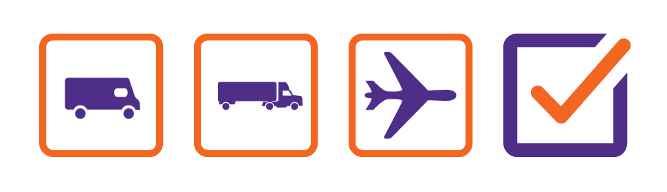 Van, truck, plane, or 3D printing? Fedex is committed to customer deliveries. Image via FedEx