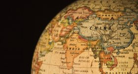 Stock image showing Southeast Asia on a globe. Image via NYU