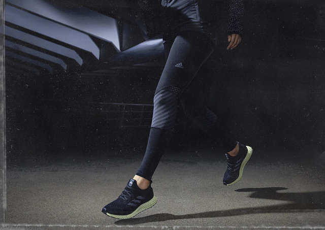 The Futurecraft 4D will be for athletes. Photo via Adidas.