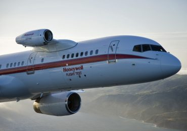 A Honeywell Aerospace test flight at the Paris Air Show. Photo via Honeywell Aerospace.